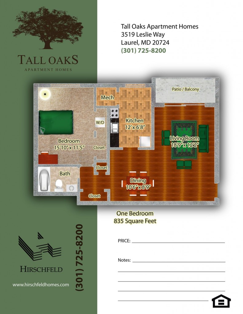 Apartments In Laurel Maryland Tall Oaks Apartment Homes Hirschfeld Homes