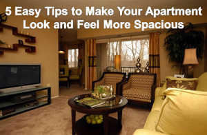5 Easy Tips to Make Your Apartment Look and Feel Even More Spacious