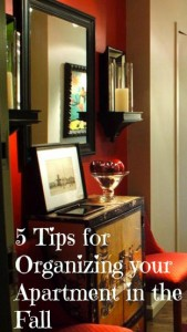 5 Tips for Organizing your Apartment in the Fall | Hirschfeld