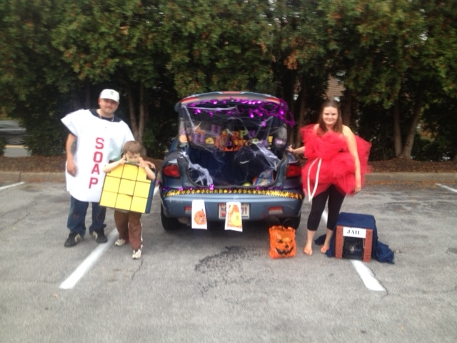 Cockeysville, MD Trunk or Treat Costume Winners