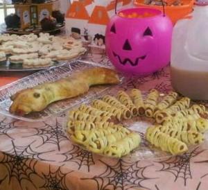 Stony Brook Village Apartments Halloween Food