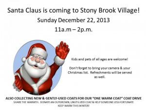 Santa_Claus_coming_to_Stony_Brook_Village_Apartment_Homes