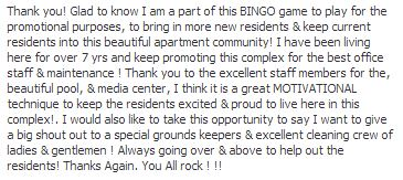 Apartments_for_rent_baltimore_Hirschfeld_Homes_FB_BINGO_nice_comment_04_24_2014