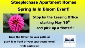 Apartments_cockeysville_MD_steeplechase_spring_flowers_in_full_bloom_residents_event_may_2014