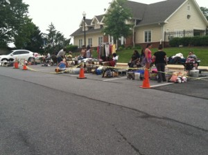 Apartments_white_marsh_md_Eagles_Walk_Community_yard_sale.3