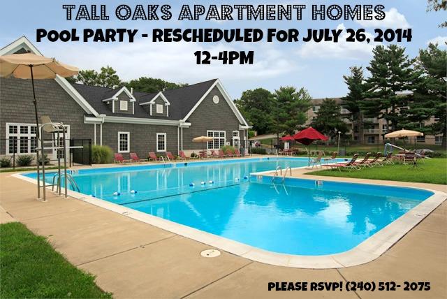 Pool Party Tall Oaks Laurel Md July 2014 Hirschfeld