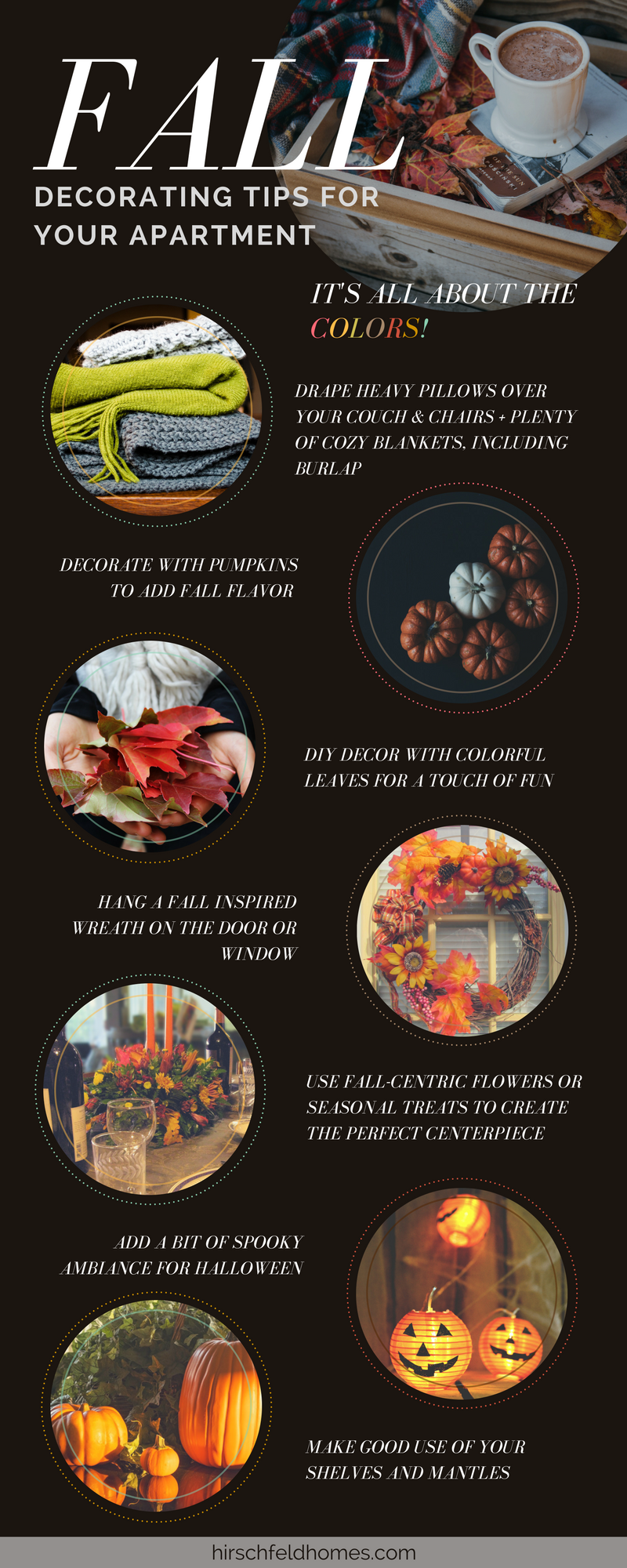 Autumn Apartments 10 Tips For Fall Decorating Hirschfeld