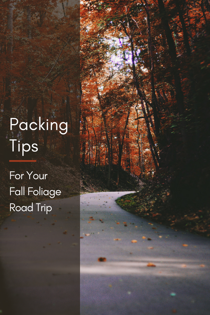 packing tips for your fall foliage road trip