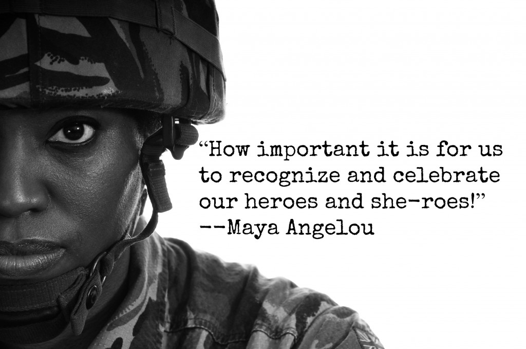 how important it is for us to recognize and celebrate our heroes and she-roes, maya angelou