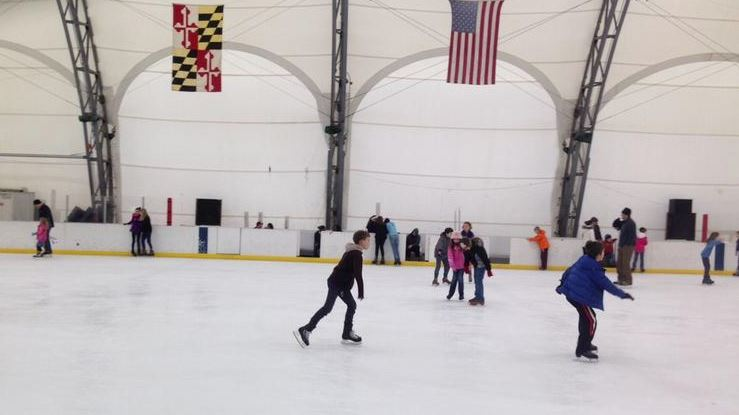 Mimi DePietro ice skating rink