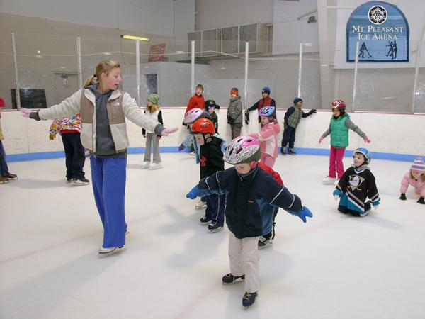 mount pleasant ice arena