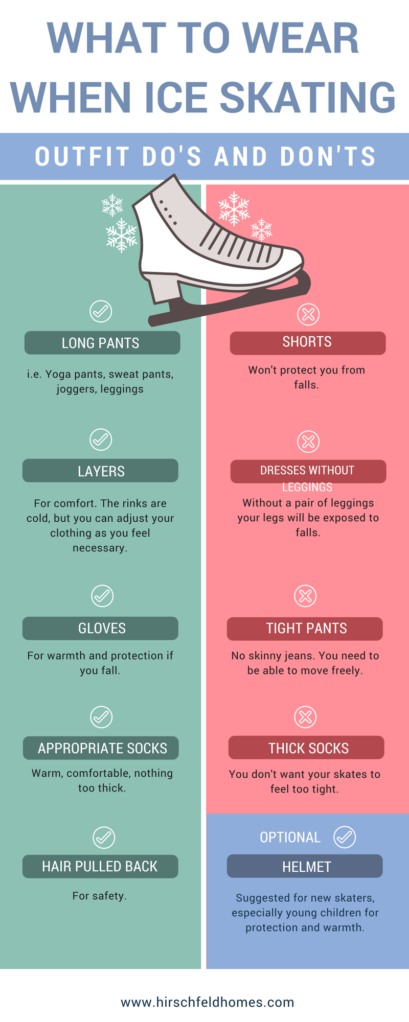 What to Wear When Ice Skating