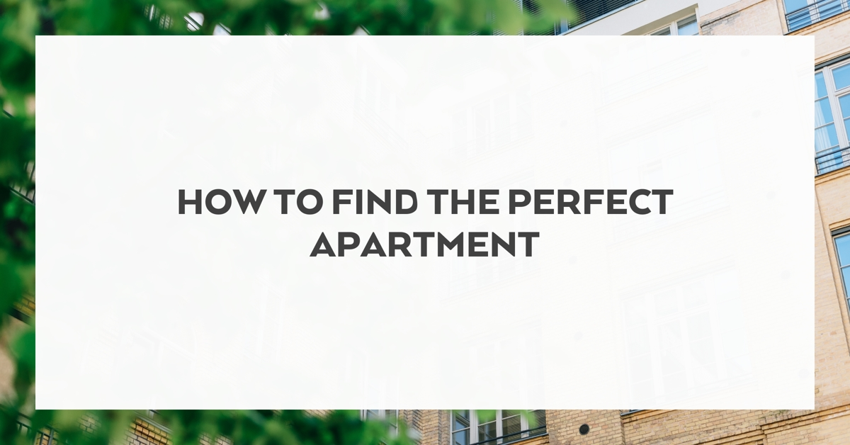 How to find the perfect apartment hirschfeld homes for Find the perfect home