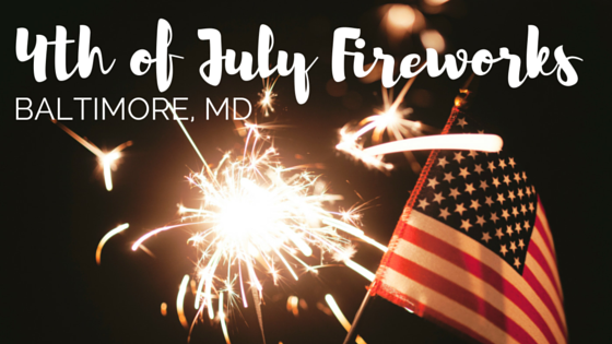 4th of July Fireworks Baltimore Maryland