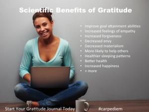 Scientific evidence on the benefits of gratitude