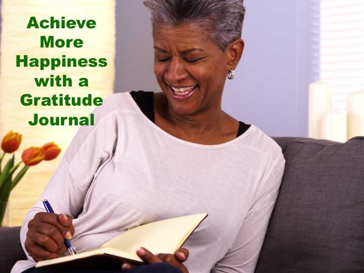 gratitude journals lead to increased levels of happiness