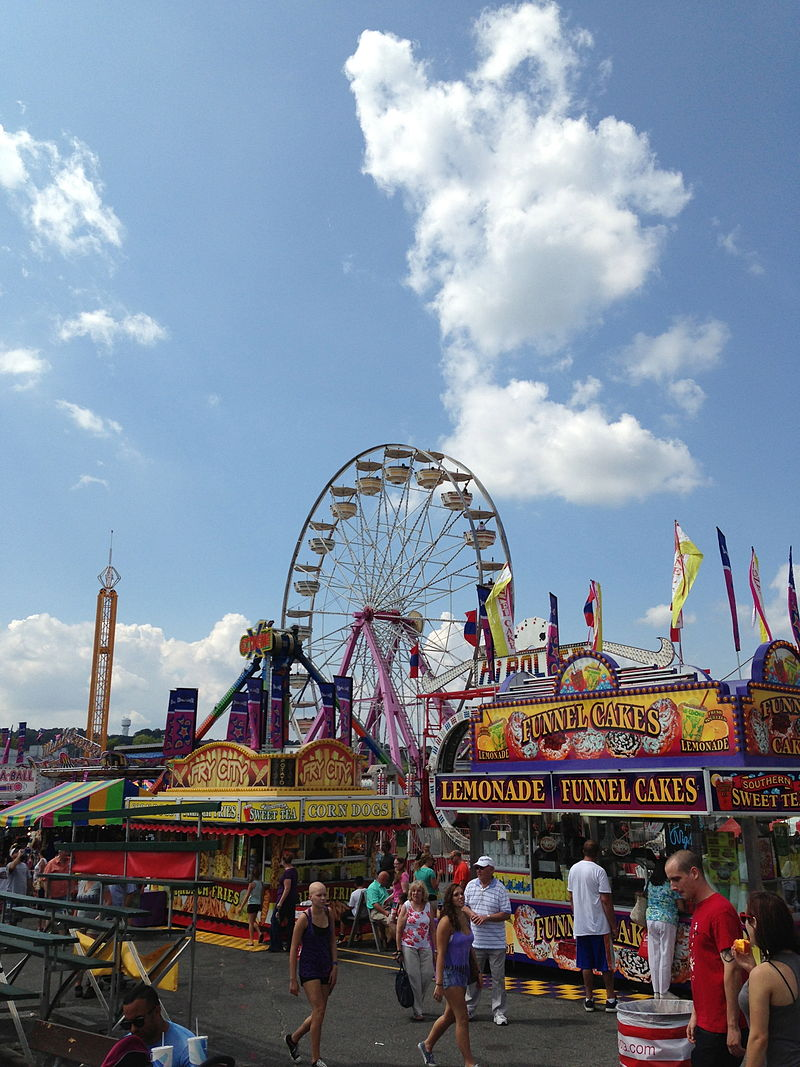 maryland state fair vendors and rides