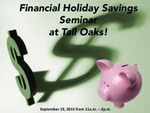 financial_holiday_savings_seminar_at_tall_oaks