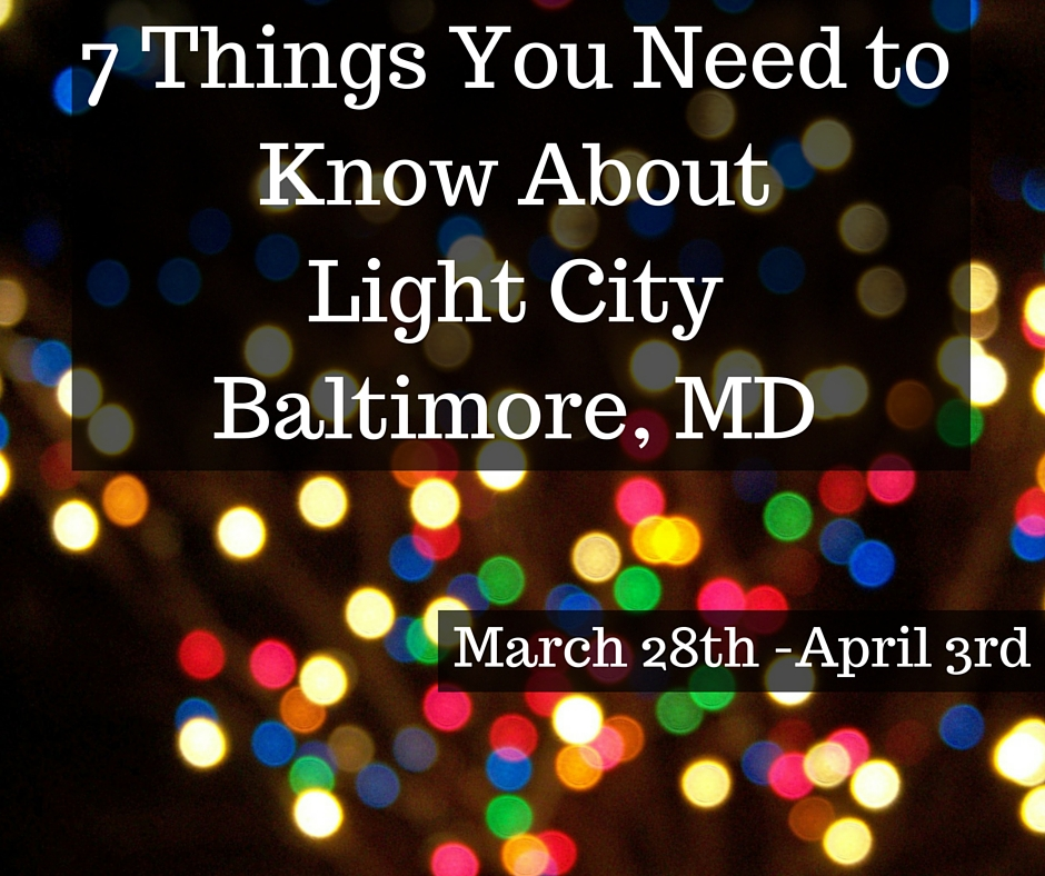 Things You Need For An Apartment: Light City Baltimore, MD