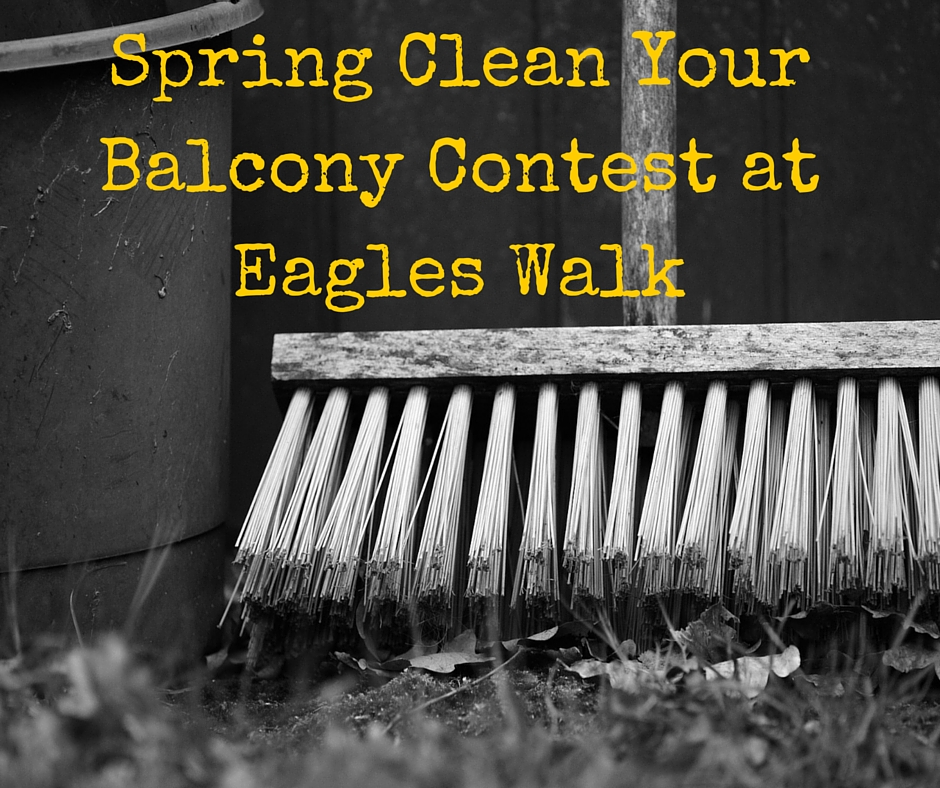 Spring Clean Your Balcony Contest Is Back At Eagles Walk