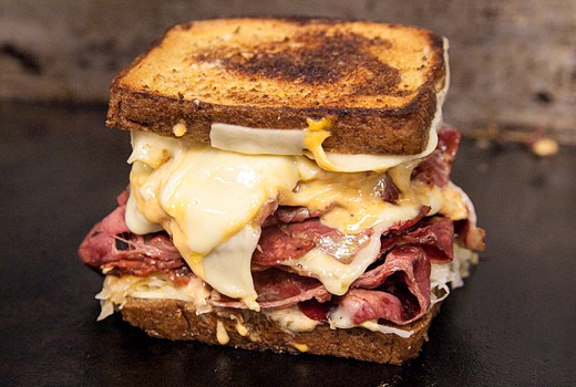 Ravage Deli mile high reuben