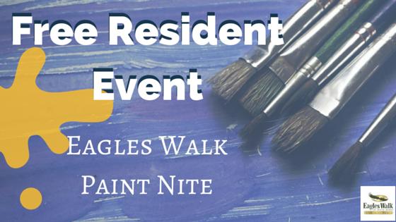Eagles Walk Paint Nite