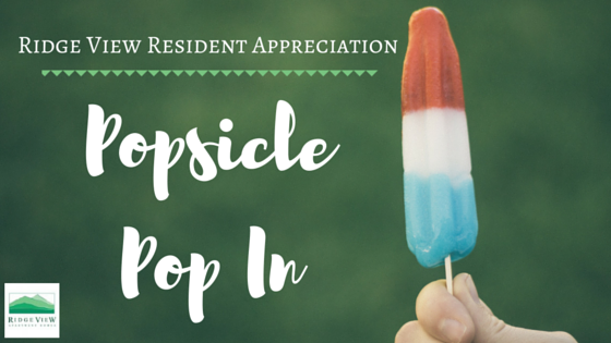 Ridge View Popsicle Pop In
