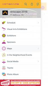 Artscape Mobile App
