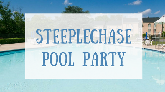 steeplechase pool party