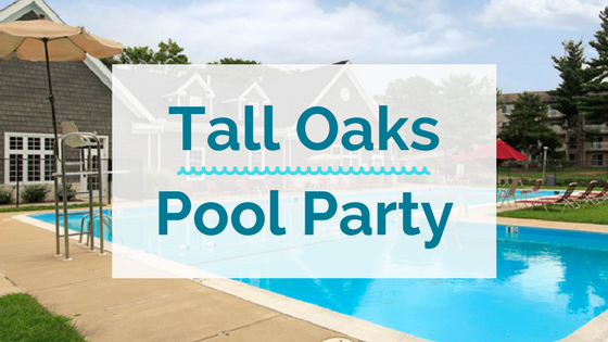 tall oaks pool party