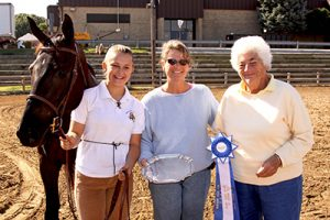 champion horse and owners