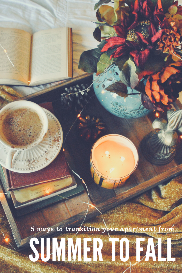 5 Ways to Transition your Apartment Home from Summer to Fall
