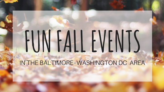 fun fall events in the baltimore washington dc area