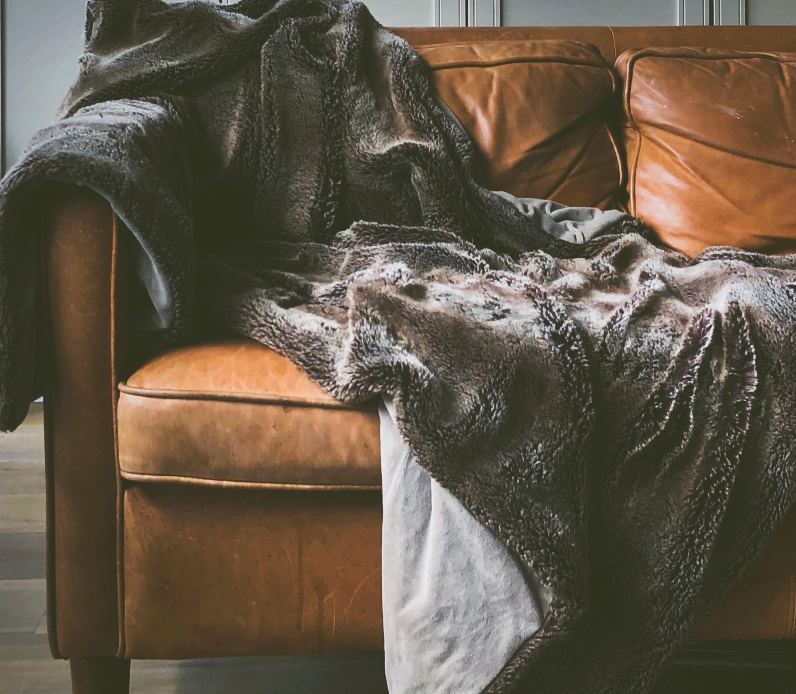 fall apartment decor throw blanket