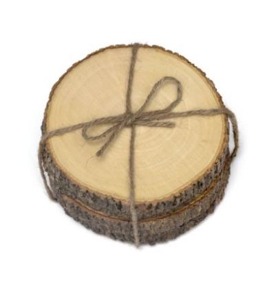tree bark inspired coasters from amazon