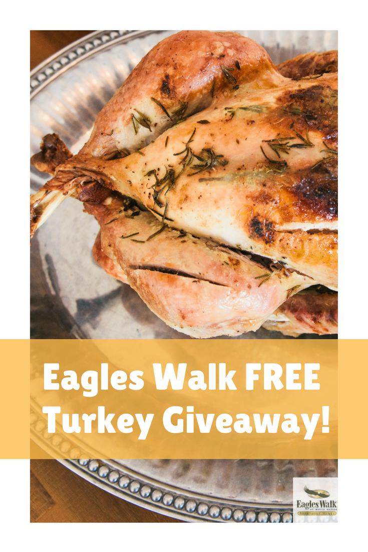 eagles walk free turkey giveaway