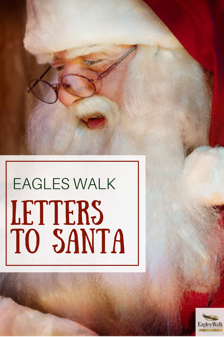 A Letter To Santa  Eagles Walk  Hirschfeld Apartment Homes