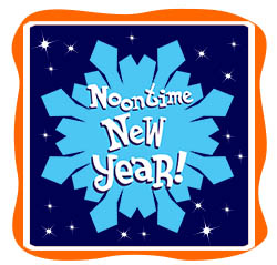 noontime new year