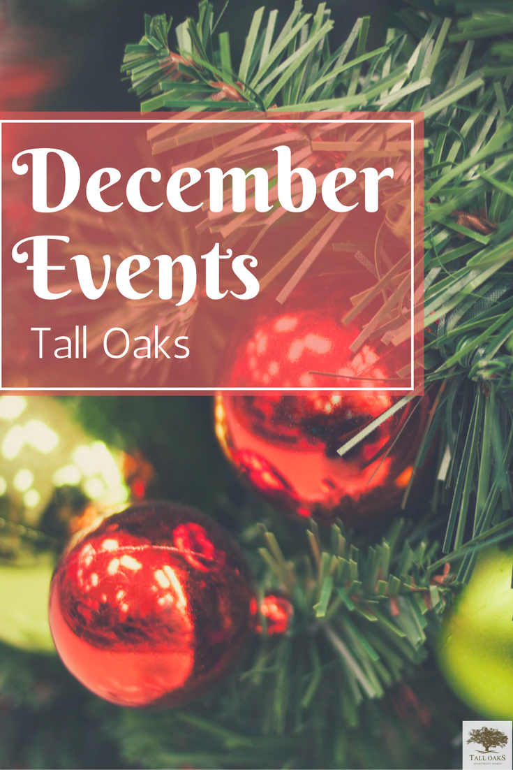 December events at Tall Oaks