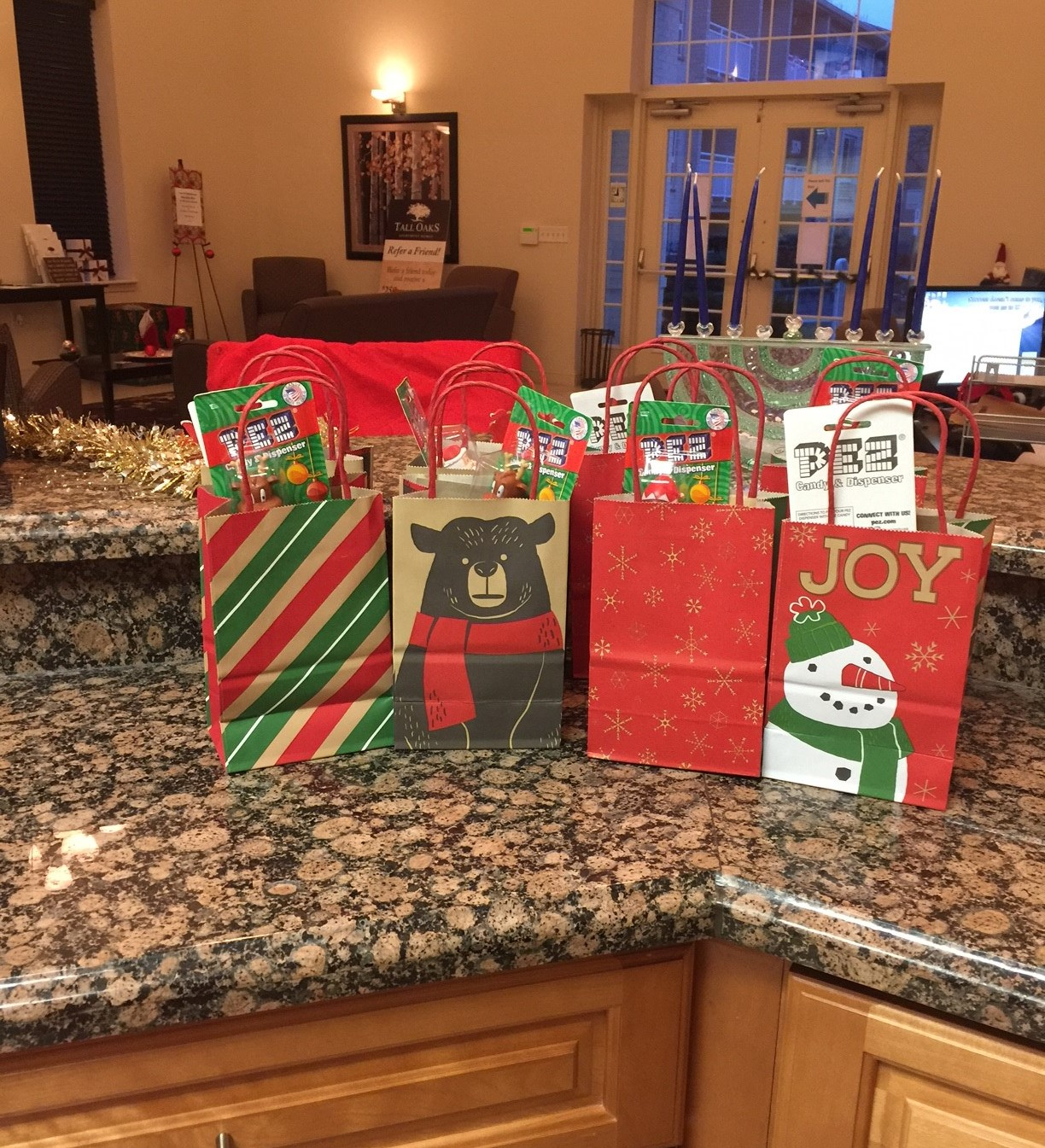 holiday goody bags
