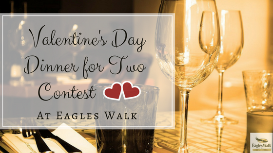 valentines day dinner for two contest at eagles walk