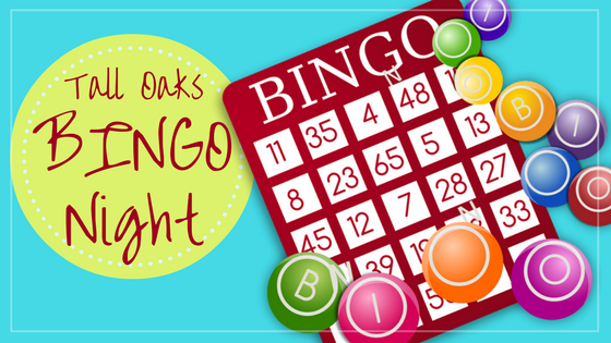 tall oaks bingo night