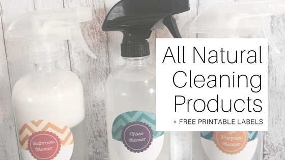 graphic regarding Free Printable Labels for Bottles identified as All Organic and natural Cleansing Solutions + Absolutely free Printable Labels