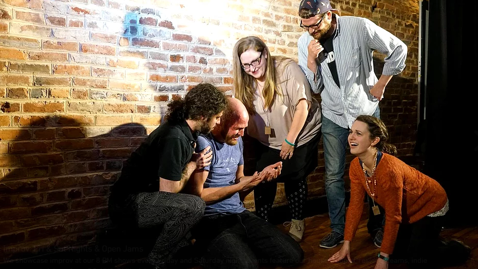 improv scene from charm city comedy festival