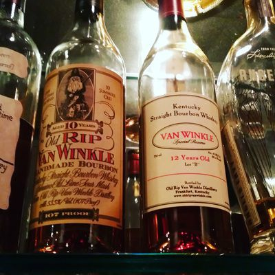 examples of bourbon at bluegrass tavern in baltimore