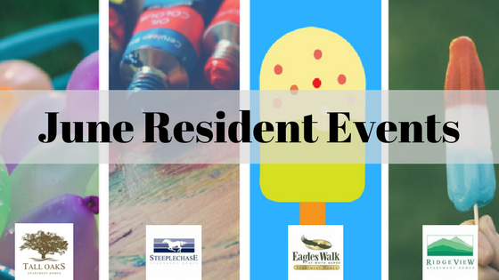 june resident events for tall oaks steeplechase eagles walk and ridge view communities