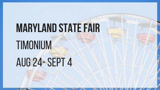 maryland state fair in timonium august 24 through september 4