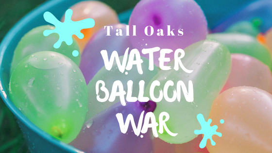 tall oaks water balloon war
