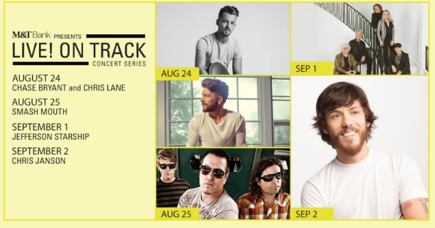 2018 Live on Track Concert Series by M&T Bank Maryland State Fair