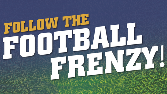 follow the football frenzy